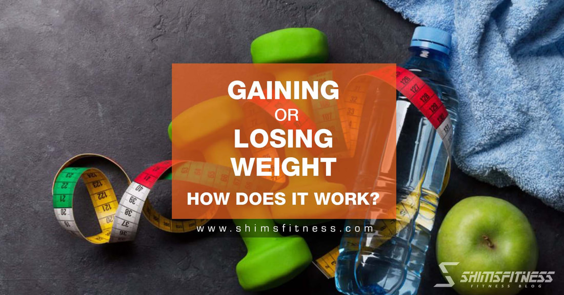 gaining losing weight