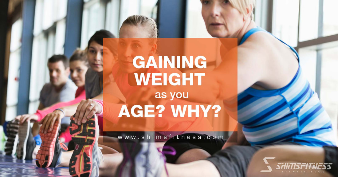 old age weight gain