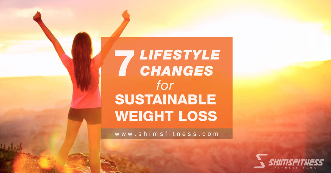 lifestyle changes sustainable weight loss