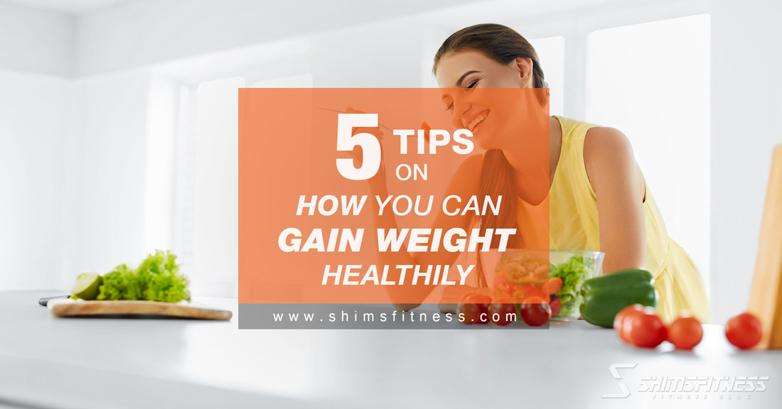 gain weight healthily
